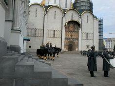 Cerimonial militar na Praça Sobomaya (Kremlin da Praça Vermelha)