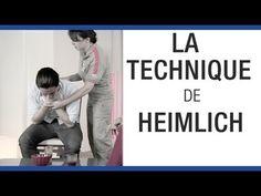 La technique d'Heimlich - Premiers secours