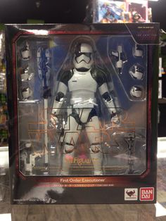 Ban Dai SHFiguarts Star Wars First Order Stormtrooper