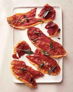 Prosciutto Crisps | Martha Stewart Dec 2014