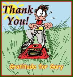 Gratitude for Gary the Lawn Mower Man - News - Bubblews