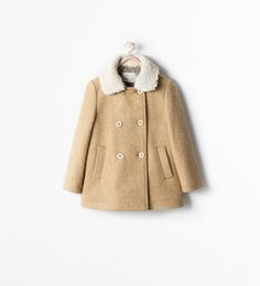 ZARA - SALE - DOUBLE BREASTED MOHAIR SHORT COAT