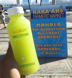 Support Local  Come visit us at Kaka'ako Farmers Market today till noon.