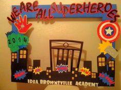 Resultado de imagen para marcos infantiles avengers