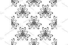 Oriental vector pattern with damask, arabesque and floral elements. Damask Patterns, Arabesque, Vector Pattern, Abstract Backgrounds, Designs To Draw, Flower Designs, Floral Design, Drawings, Floral Patterns