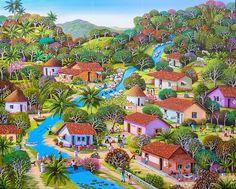 """Fausto Perez (El Salvador) """"Dreams of My Childhood"""","""