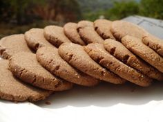 These gluten-free teff and peanut butter cookies are simple and make an excellent treat when you need one. You can use either brown or white teff flour for this recipe.