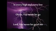 You Never Let Go - Matt Redman (Music Video With Lyrics) - Music Videos