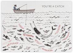 You're a Catch (Sarah Burwash) - Paperless Post