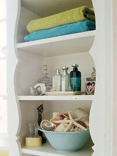for my main bathrm....Spa Week and Coastal Bathroom Decor « CereusArt CereusArt