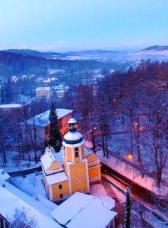 Zima w Lądku-Zdroju. http://kontakt24.tvn24.pl/zima-w-ladku-zdroju,2990683,ugc