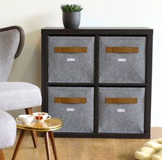 details zu ikea kallax regal in grau holzeffekt 77x147cm raumteiler expedit kompatibel. Black Bedroom Furniture Sets. Home Design Ideas