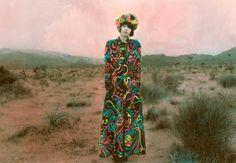 Fantasías de indumentaria en los textiles pintados de Shae Detar