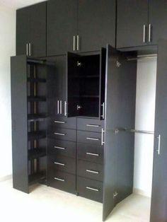 New closet de madera colores Ideas Wardrobe Door Designs, Wardrobe Design Bedroom, Bedroom Furniture Design, Wardrobe Closet, Closet Designs, Closet Bedroom, Home Furniture, Kitchen Furniture, Wooden Furniture
