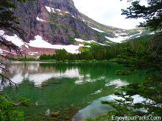 No Name Lake, Dawson Pass Trail - Pitamakan Pass Trail Loop, Glacier National Park