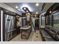 New Heartland Cyclone 4200 Toy Hauler Fifth Wheel for Sale | Review Rate Compare Floorplans - RVingPlanet