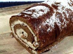 Roláda je tak vláčná, že se nemusí stáčet za tepla. Valspar, Recipies, Food And Drink, Bread, Cake, Recipes, Brot, Kuchen, Baking