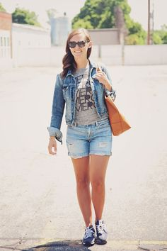jillgg's good life (for less) | a style blog: my everyday style: double the denim!