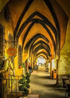 Some of Prague's wonderful arched ceilings near the Old Town Square. Exterior Design, Interior And Exterior, Old Town Square, Travel Images, Prague, Ceilings, Arch, Old Things, Painting