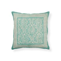 Green Printed Cushion | ZARA HOME