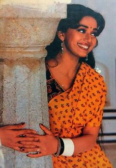 Madhuri smile