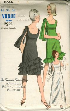 Vogue 6614 A - Vintage Sewing Patterns - Wikia