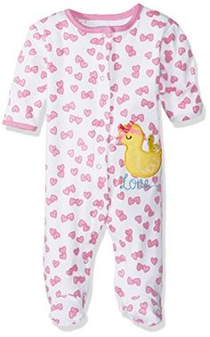 BON BEBE Baby Girls' 1 Pc Footed Coverall with Fold Back Mitten Covers: 100 percent cotton snap front footed long sleeve coverall with fold back mitten covers and snaps at the inseam for easy on-off access. Babies Clothes, Cute Baby Clothes, Theme Bedrooms, Baby Sleepers, Bebe Baby, Mother And Baby, Sleepover, Future Baby, Baby Girls