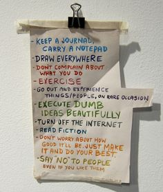 The last line about saying NO,Its not easy but its essential to follow that bit too!Happy life.