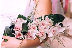 Gorgeous bouquet with pink Pink Orchids, Bridal Bouquets, Crown, Flowers, Plants, Wedding Bouquets, Corona, Plant, Royal Icing Flowers