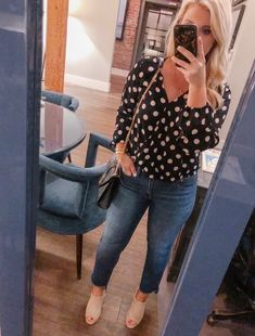 Fashion Look Featuring Sanctuary Petite Tops and J.Crew Stretch Denim by cristincooper - ShopStyle Autumn Fashion Casual, Casual Fall, Size 16 Fashion, Petite Tops, Fashion Outfits, Fashion Clothes, Stretch Jeans, Latest Trends, Personal Style