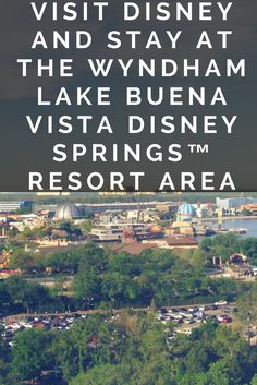 If you are heading to Disney or Orlando, I highly recommend staying at the Wyndham Lake Buena Vista Disney Springs™️ Resort Area!