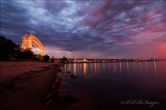 Shot of Aerial Lift Bridge taken from Park Point, Duluth, MN Minnesota Home, Lake Superior, Sunrises, Nature Photos, Wisconsin, Beautiful Things, Summertime, Bridge, Kiss