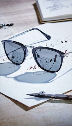 With the new Persol Calligrapher Edition, fine craftsmanship meets the art of #calligraphy, producing one of a kind eyewear with a human touch. We are in love already! http://www.smartbuyglasses.com/designer-sunglasses/Persol/Persol-PO3165S-Polarized-95/58-341149.html