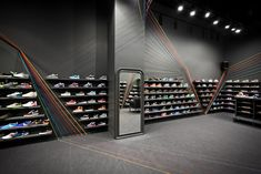 Run Colors trainer store, by Mode:lina Architekci