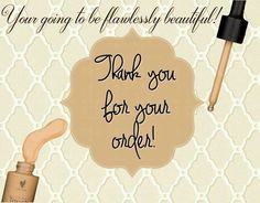 Thank you for your Touch Mineral Liquid Foundation order! #Younique #ClickImageToShop #Questions #EmailMe sarahandbrianyounique@gmail.com or comment below