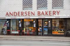 Andersen Bakery in København V, Region Hovedstaden Denmark Street, Soft Serve, Street Food, Copenhagen, Places To Travel, Bakery, Tasty, Destinations, Holiday Destinations