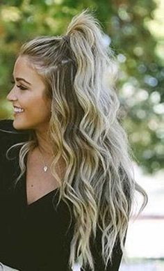 13.Summer Long Hairstyles