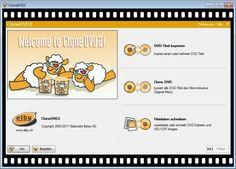 Screenshot aus CloneDVD