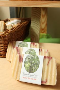 S.O.S. ( Save Our Skin) natural soap bar made with Rosemary and Tea Tree essential oil.