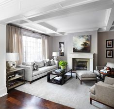 Kingsway Home - traditional - living room - toronto - Lisa Petrole Photography