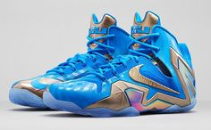 Nike Lebron XI Elite Blue Hero Size 11 #Nike #BasketballShoes