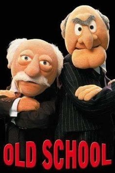 Muppets Old School. Statler and Waldorf Jim Henson, Kermit, Sapo Meme, Fraggle Rock, The Muppet Show, Bd Comics, Old Tv, Classic Tv, Funny Humor