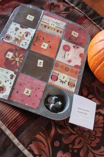 DIY Thanksgiving Activity Calendar/countdown.