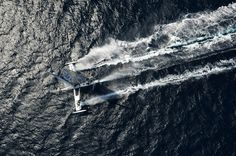 TOP 10 boats and aircraft from 2013 - hydroptere sailboat sets transpacific fastest speed record
