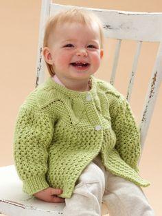 Leaf and Lace Set | Yarn | Free Knitting Patterns | Crochet Patterns | Yarnspirations