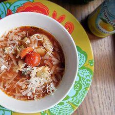 Sex im Salat: Zuppa di Tortellini - Tortellini Suppe
