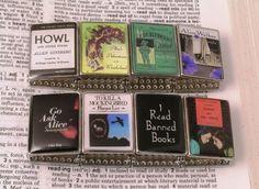 Banned Books Bracelet ~ I've read all but one of these.