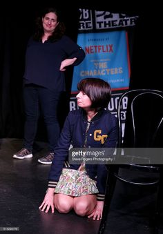Tami Sagher and Kate Micucci perform onstage at Mike Birbiglia's Dream during the 2016 SXSW Music, Film + Interactive Festival at The Hideout on March 12, 2016 in Austin, Texas.