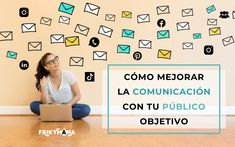 Cómo mejorar la comunicación con tU PÚBLICO OBJETIVO Email Marketing Software, Online Marketing, Video Notes, Email Providers, Email Campaign, Promote Your Business, Email List, Daily Motivation, Make More Money