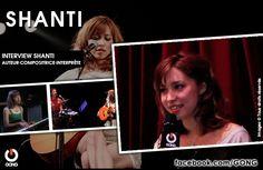 GONG [SHANTI] - Rencontre avec la chanteuse Shanti ! http://gong.fr